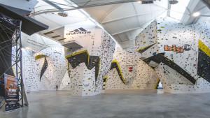 Seilkletterereich der Climbmax Kletterwelt in Stuttgart