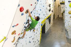 Seilklettern im Climbmax Stuttgart