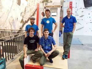 KRAFTOLIZER Teststation in der Climbmax Kletterwelt in Stuttgart