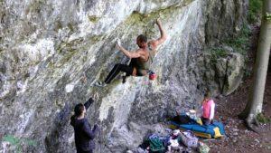 Christoph Völker klettert Intercooler 11-