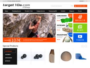 Target 10a webshop