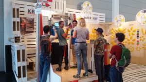 Leistenpower Showdown auf der Outdoor Messe
